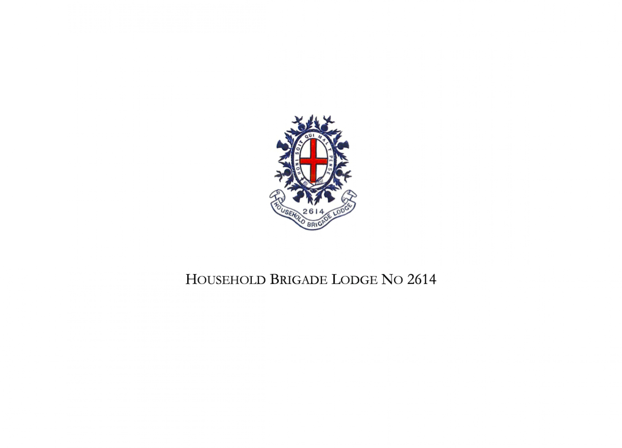 Household Brigade Lodge No 2614